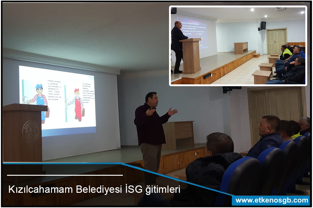 Kızılcahamam Belediyesi İSG Eğitimleri Tamamlandı